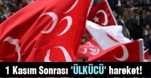 1 Kasım Sonrası 'ÜLKÜCÜ' hareket!