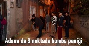 Adana'da 3 Nokta'da Bomba Paniği