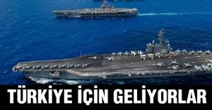 Akdeniz'e Savaş Gemileri ve Uçakları Geliyor!