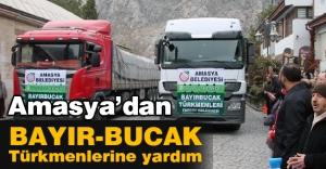 Amasya'dan Bayırbucak Türkmenlerine Büyük Yardım