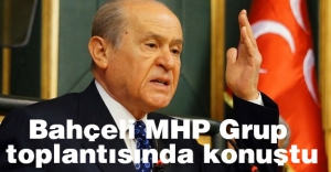 Bahçeli; MHP Gurup Toplantısında Konuştu