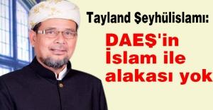 'DAEŞ'in İslam ile alakası yok'