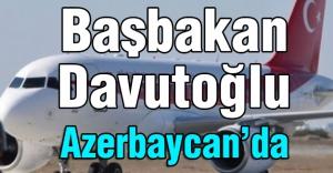 Davutoğlu Özel Uçakla Azerbaycan'a Gitti