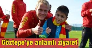 Göztepe'ye anlamlı ziyaret