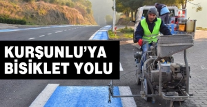 KURŞUNLU'YA BİSİKLET YOLU