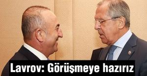 Lavrov: Belgrad'da görüşmeye hazırız