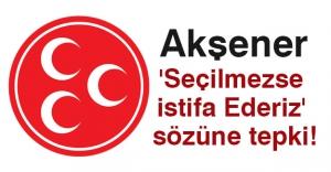 Meral  Akşener 'Seçilmezse İstifa Ederiz' e Tepki!