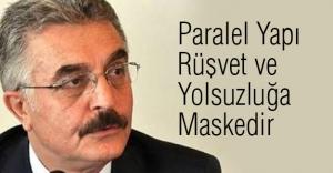 MHP'li Büyükataman: Paralel Yapı Rüşvet ve Yolsuzluğa Maskedir