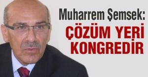 Muharrem Şemsek: Çözüm yeri ülkücü-milliyetçi iradedir