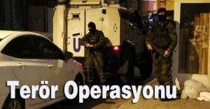 Okmeydanı'nda helikopter destekli operasyon