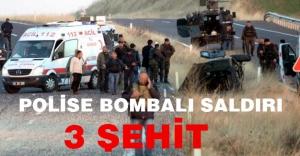 Polise bombalı saldırı: 3 Şehit...