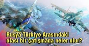 Rusya Türkiye Arasındaki olası bir çatışmada neler olur?