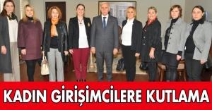 Samsun Valisi Kadın Girişimcilere kutladı...