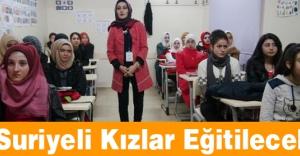 Suriyeli Kızlar Eğitilecek