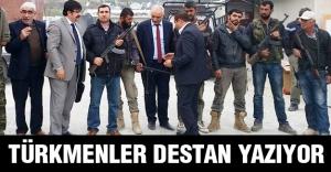 Türkmenler destan yazıyor!