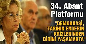 34. Abant Platformu...