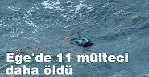 7'si Çocuk 11 Mülteci daha Öldü