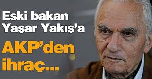 AKP'li Eski Bakan'a İhraç...