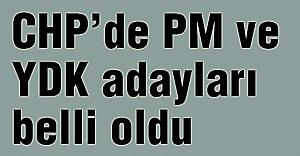 CHP PM ve YDK üyeleri seçiliyor...