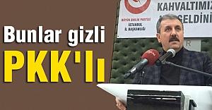 Destici: Bunlar gizli PKK'lı