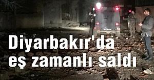 Diyarbakır'da eş zamanlı saldırılarda büyük can kaybı