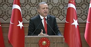 Erdoğan; çeyrek porsiyon bile etmiyorlar