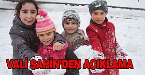 İstanbul'da okula devam...