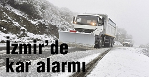 İzmir'de Alarm!