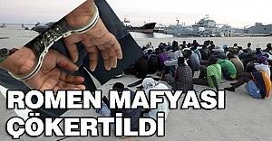 İzmir'de Romen mafyası çökertildi