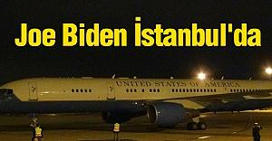 Joe Biden İstanbul'da