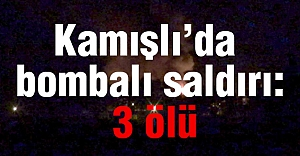 Kamışlı'da Bombalı Saldırı...