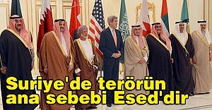 Kerry:  terörün ana sebebi Esed'dir