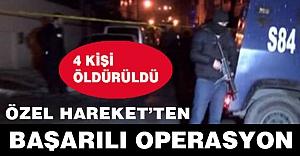 Kızıltepe'de 4 Terörist Öldürüldü