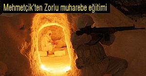 Mehmetçik'ten Zorlu muharebe eğitimi