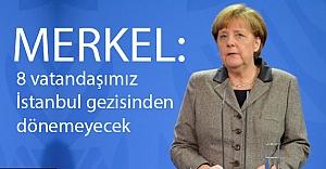 Merkel: Teröristler Herkesin Düşmanı...