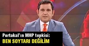 MHP'den gelen sert sözler Portakal'ı çıldırttı
