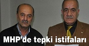 Muş'ta MHP Genel Merkez yönetimine tepki istifaları