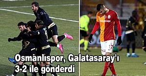 Osmanlıspor, Galatasaray'ı 3-2 ile gönderdi