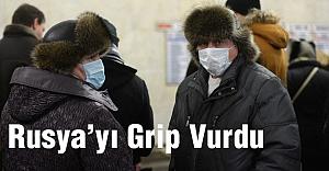 Rusya'yı grip vurdu