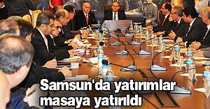 Samsun'da Yatırımlar Masada