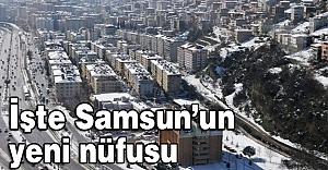 Samsun'un Nüfusu Yükseldi...