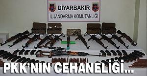 Silvan'da PKK'nın Cephaneliği Çökertildi...