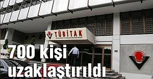 """'TÜBİTAK'tan 700 çalışan uzaklaştırıldı"""""""