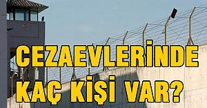 Türkiye cezaevlerinde kaç kişi var?
