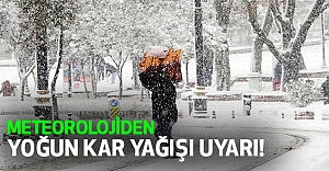 Uyarı! Yoğun Kar Yağışı Bekleniyor...