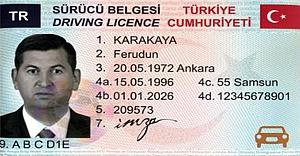 Yeni sürücü belgesinde fotoğraf standartları