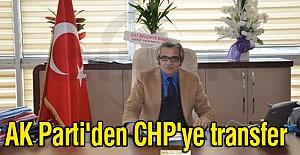 AK Parti'den CHP'ye transfer
