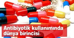 Antibiyotik kullanımında dünya birincisiyiz