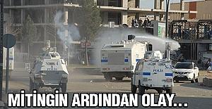 Batman'da HDP Mitinginden Sonra Olay Çıktı