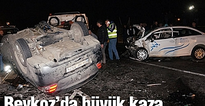 Beykoz'da Büyük Kaza...